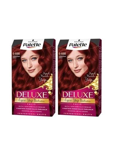 Palette Palette Deluxe 6-888 Sonbahar Kızılıx 2 Paket Renkli